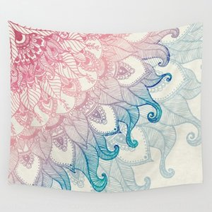 New home tapestry wall tapestry towel hanging wall decoration Bohemian wind printing beach towel beach carpet