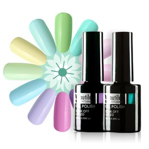 Beautilux 1pc Spring Collection Light Pink Blue Purple Flower Color UV LED Gel Nail Polish Gels Varnish Lacquer Esmalte 10ml