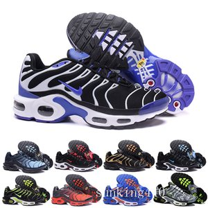 2019 Newest Men Zapatillas TN Designers Sneakers Chaussures Homme Men Basketball Shoes Mens Mercurial TN Running Shoes Eur40-46 KNI6V