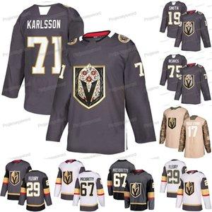 William Karlsson Jersey Vegas Golden Knights Max Pacioretty Keegan Kolesar Ryan Reaves Reilly Smith Mark Stone Alex Tuch Hockey sur glace Maillots