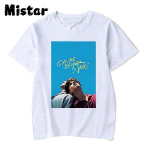 Call Me By Your Name Movie Womens T-shirts New Summer Fashion Casual High Quality Short Sleeve Printed Harajuku T-shirt Women