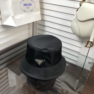 Cappello del progettista di marca Cotone Lettera di lusso In delle donne degli uomini pieghevole Secchio Caps pescatore Beach Sun Visor vendita pieghevole Man Cap BB173
