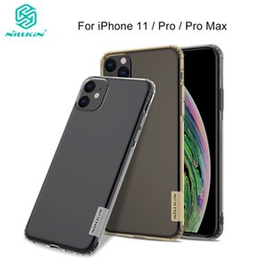 11case Şeffaf Yumuşak Silikon TPU Kapak Kılıf 11 / X / XR / XS Max iPhone için 11 Pro Nillkin Lüks