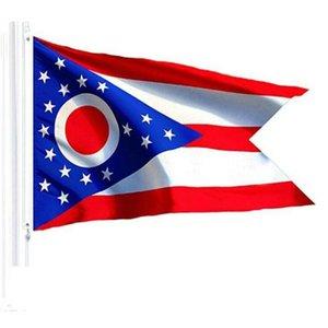 2016 Ohio State Flags Nylon Polyester 2 x 3 to 5 x 8 springbok puzzles com q 40 q Ohio State Flag p mmj2010 INngo