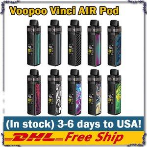 VINCI VOOPOO Mod cigarettes e 1500mAh Pod Kit système manuel Modes Auto Vape avec 0,96 pouces TFT écran avec PnP Bobines