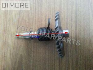 129mm / 158mm de largo pedal de arranque Conjunto de eje / eje para un ciclomotor scooter ATV QUAD GY6 125 GY6 150 152QMI 157QMJ BRlQ #