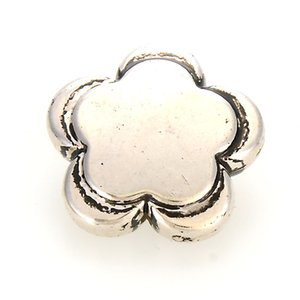 Miasol 10 Pcs 32x10mm Plating Acrylic Flower Spacers Antique Design Beads Charms For Diy Jewelry Making Accessories