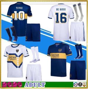 2020 Boca Juniors soccer Jersey Home Away adult kit +socks 20 21 Boca Juniors GAGO CARLITOS PEREZ DE ROSSI TEVEZ football shirt
