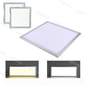LED Panel Light Acrylic 36W 300X300 300X600 600X600mm Indoor Ceiling Lamp Side Emitting SMD2835 85-265V For Kitchen Bathroom Office DHL