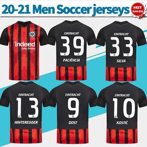 20 21 Eintracht Francfort football Chandails # 39 PACIENCIA # 10 Kostic 20/21 hommes Accueil Francfort Football Shirts personnalisés Uniformes de football