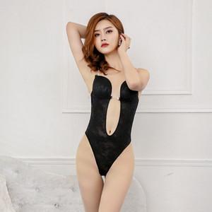 0Nmsm Nuovi vestiti body-shaping pizzo spalla trasparente cinturino sexy invisibile sera abito Shapewear shapewear del reggiseno da cerimonia nuziale posteriore del corpo esposte