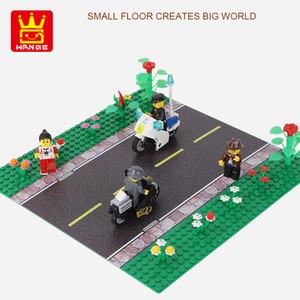 Yol 32x32 yapı taşları aksesuar diy yaratıcı montaj çocuklar zeka oyuncakları erkek hediye 01 taban plakası