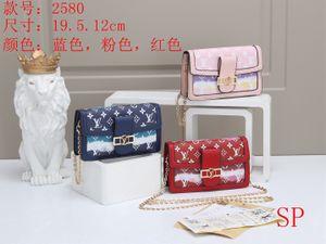 2020 Women Famous Shoulder Bag Luxury Handbags Purses Chain Fashion HOTLVLOUISVUITTONCrossbody Bag 13