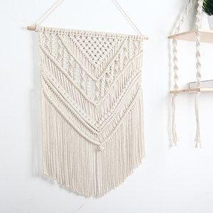 Handmade Tapestry Wall Hanging Macrame Home Decor Bohemian Door hang Craft Handcrafted Decor9