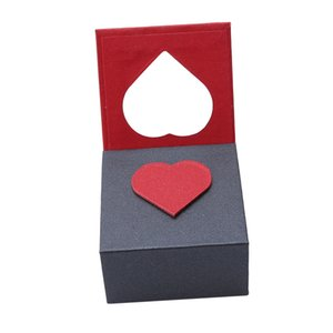 1 Pc Exquisite Jewelry Gift Box Organizer Casket For Wedding Ring Bangle Bracelet Pendant Necklace Decoration Packaging Box