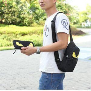 Men Bags Casual Travel Bolas Masculina Male Messenger Bag Nylon Canvas Waist Crossbody Shoulder Bag