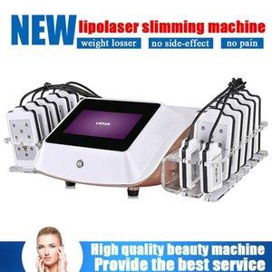 Satılık Düşük Seviye 12 Lazer Pedler Lazer Tedavisi Vücut Zayıflama Low Level Laser Therapy Makinesi