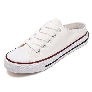 SJJH femmes toile Skateboarding Chaussures confortables Chaussures femme vulcaniser Casual Chaussures Femme Chaussure D221 MX200801