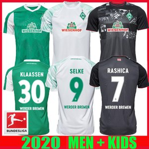 20 21 Ciudad SV Werder Bremen fútbol jerseys hogar lejos 2020 2021 FRIEDL KLAASSEN Selke RASHICA BARTELS Werder Bremen hombres hijos camisetas de fútbol