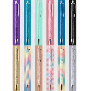 Free shipping Gold Black Blue Metal Ball Pen Set School Office Supplies Ballpoint Pen Signature Pen IM Serious SYZB001