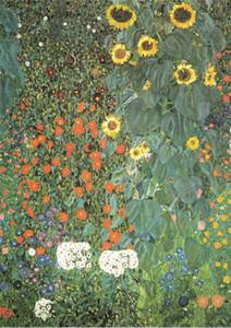 Gustav Klimt -Farm Garden Home Decor Handpainted &HD Print Oil Painting On Canvas Wall Art Canvas Pictures 200711