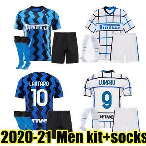 Thailand ICARDI LAUTOARO Martinez Inter MILAN CHAMPION Mailand 2020 2021 Fußball Trikot PERISIC NAINGGOLAN POLITANO Meister Liga Trikot 20 21 Fußball-Kit-Shirt