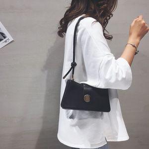9iEgT Senior French niche women's 2020 new Advanced Package French niche women's 2020 fashion texture armpit bag shoulder slanting leggings