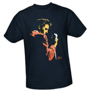 Elvis Presley Elvis Early adulte unisexes occasionnels moderne T-shirt Taille Plus