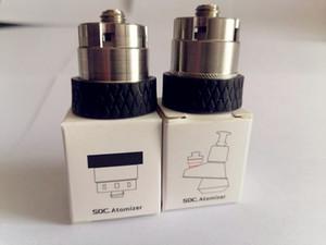 Nouveau SOC Atomiseur Chauffage Head Coil Élément Vape Accessoires pour réservoir SOC pointe Enail cire concentré Shatter Budder Dabs remplacement Rig Kit