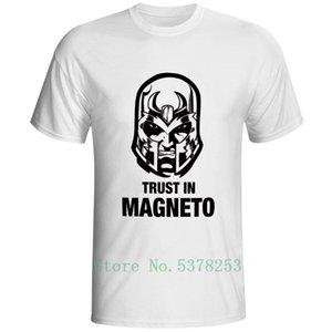 Magneto Wert zu trauen T-Shirt Superheld-lustiger Superheld-Mode-T-Shirt Punk Rock Frauen Männer Top-Comics