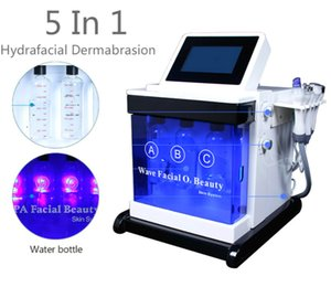 Portable Latest 5 in 1 Cold Hammer Diamond Microdermabrasion Beauty Machine Skin Care Water Aqua Dermabrasion Peeling Hydrafacial Spa