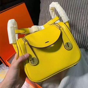 Твердая Продажа Горячие 2020 женщины дизайнер Роскошные сумки Кошельки Мини Lindy Прекрасный мешок верхнего качества Кожи Теленка Женщины Плечо вскользь мешка