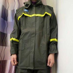 qJQrj Ciclismo roupas dividida calças capa pesca chuva riding roupas de chuva Brasão ciclismo terno trabalho resistentes ao desgaste impermeável ao ar livre