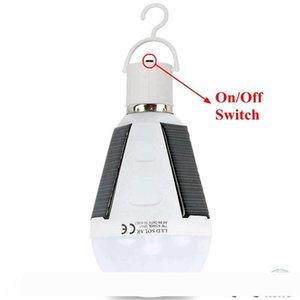 Edison2011 ترقية قابلة للشحن لمبة الصمام 12W E27 LED مصباح للطاقة الشمسية 85V-265V في الهواء الطلق للطاقة الشمسية في حالات الطوارئ مصباح تعمل بالطاقة التخييم المشي لمسافات طويلة الصيد ضوء