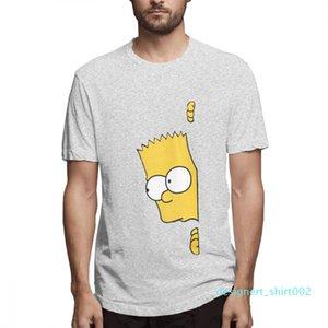 Coton Les Simpsons Mode Chemises Designer Femme Chemises Hommes manches courtes T-shirt Simpsons T-shirts imprimés causales c3704d02