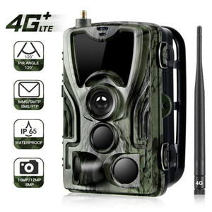 IR Hunting Night Vision Camera Trail Caméra Hunting Farm Security Cam étanche Caméras de vision nocturne 4G CMOS
