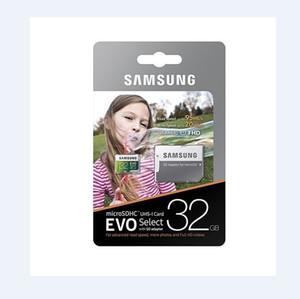 8G / 16기가바이트 / 32기가바이트 / 64기가바이트 / 128기가바이트 / 2백56기가바이트 삼성 EVO 선택 플러스 마이크로 SD 카드 / 스마트 폰 TF 카드 / 4K HD 카메라 스토리지 카드 100메가바이트 / S