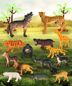 animal world jungle simulation model toy set for kids realistc image enrich children's cognitive and hands-on ability gift 02