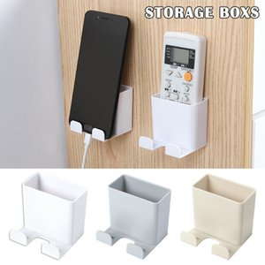 Multifunctional Remote Control Holder Organiser Storage Caddy Smart TV Holder Home Wall Mount Phone Wall Holder Storage Rack