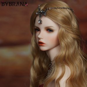 Bybrana BJD парик Ярмарка размер 1/3 1/4 1/6 1/8 Длинные волны высокой температуры волокна волос для кукол CX200715
