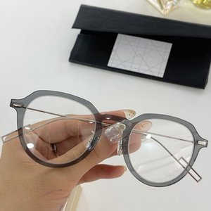 2020designer Newarrival Superlight D-PEAR01 الصغيرة جولة للجنسين النظارات الإطار بلانك fullrim + سليم سلك الفولاذ المقاوم للوصفة طبية حالة fullrim