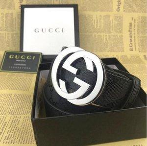 G *** Mens Fashion Designers Ceintures de luxe Ceinture Homme Femme Ceintures Lettres G Boucle Casual Lisser avec la boîte GUCCI