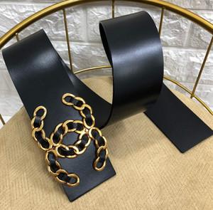 New hot ladies ceinture en cuir haute usine de boucle de ceinture lisse perle de mode vente directe livraison gratuite