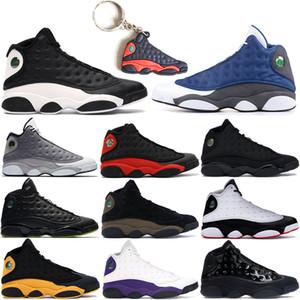 2019 Chegada nova 13 13s homens tênis de Basquete Lakers He Got Game criados Chicago Atmosphere Cinza mens designer sports sneakers US 7-13