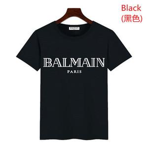 Мужские дизайнер футболка дизайнера Повседневного Бич Hombres тройники Mens Line Tie окрашенных футболки Летняя мода Кармана G8balman