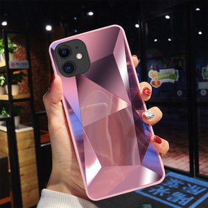 Diamond 3D Mirror Phone Case For iPhone 11 Pro Max X XR XS Max 8 7 6 6S Plus Cool Case For iPhone 11 Back cover