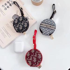 Marke F Handtasche Designer-Kopfhörer-Kasten mit Glod Logo für Airpods Fall geeignet für Apple AIRPod 1 2 airpods pro