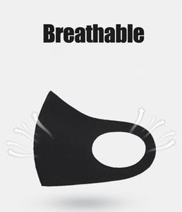 En stock réutilisable lavable en tissu visage Masque emballage individuel Masques Designer Kids Masques avec navire gratuit