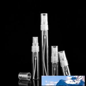 Refilable 유리 향수 병 2ml를 3ml를 5ml를 10ml의 작은 병 스프레이 향기 펌프 샘플 유리 병 0136Pack을위한 화장품 컨테이너 비우기 스프레이