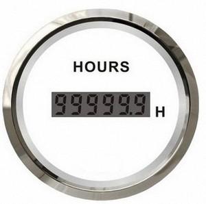 "52MM 2 ""12V / 24V الرقمية ساعة العمل على مدار الساعة الموقت للسيارات سيارة شاحنة سفينة يخت مقطورة wNyS #"